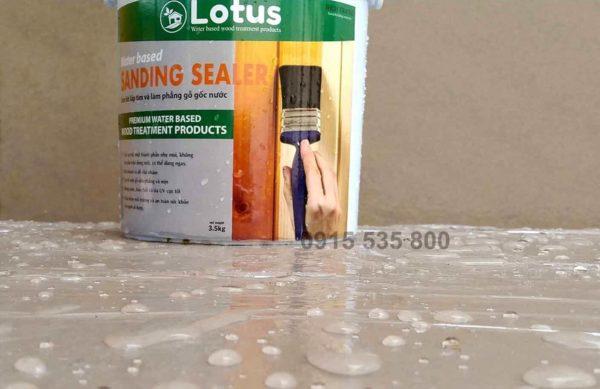Giá sơn lót cho gỗ