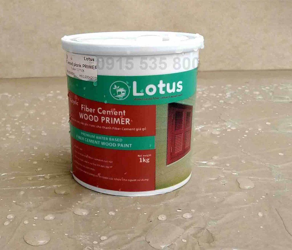 Sơn giả gỗ cao cấp Lotus là dòng sơn gốc nước với thành phần tự nhiên nên ... trên bề mặt tường bê tông giả gỗ, bê tông giả gỗ, cửa sắt giả gỗ, sàn giả gỗ, lam