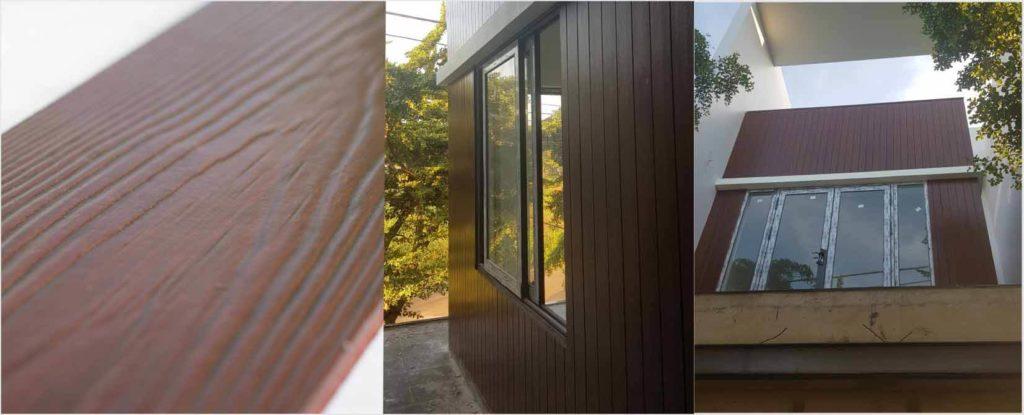 Sơn giả gỗ Lotus Fiber Cement Wood Plank Premium Acrylic