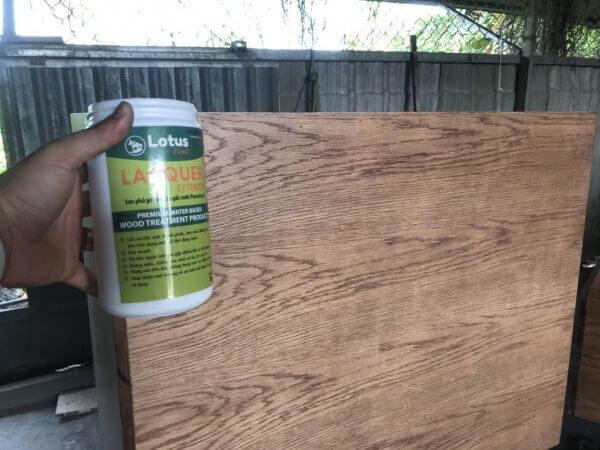 giá sơn bóng gỗ bao nhiêu