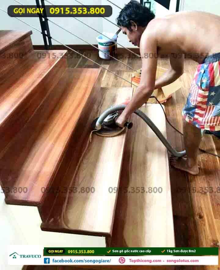 sơn bóng gỗ giá bao nhiêu