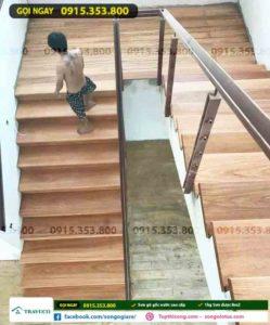 sơn phủ bóng sàn gỗ