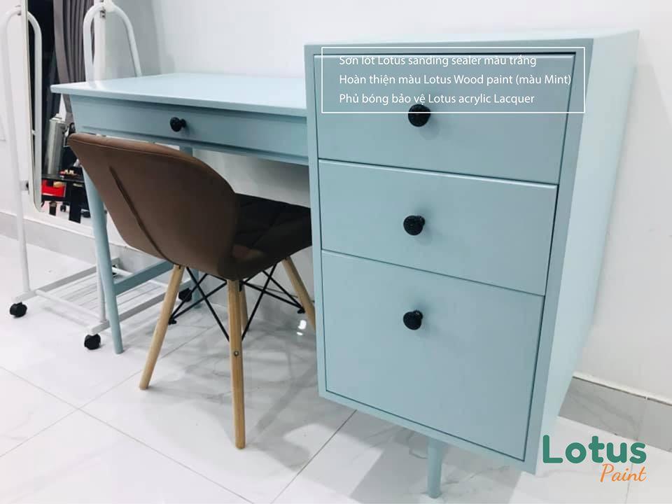 Bảng màu và cách pha màu sơn PU chuẩn nhất cho đồ nội thất