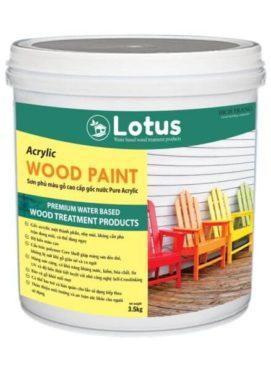 sơn gỗ màu đơn sắc cao cấp