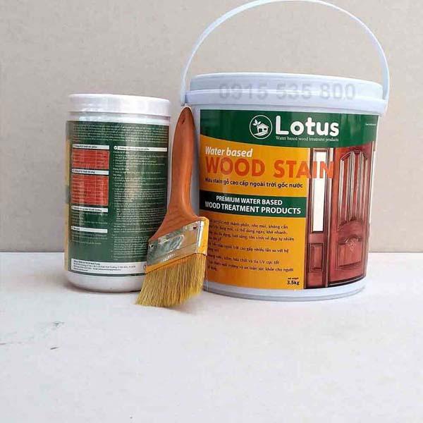Sơn phủ trang trí và bảo vệ bề mặt gỗ
