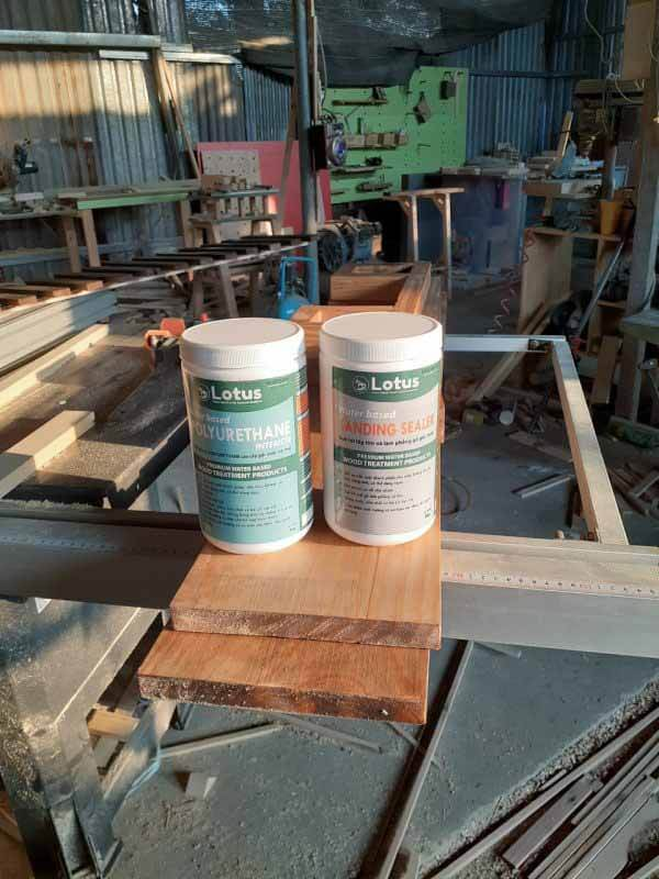 sơn gỗ polyurethane kháng nước