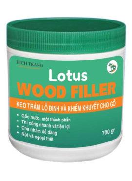 Bột trét gỗ, keo trám khuyết tật gỗ nội thất bosny