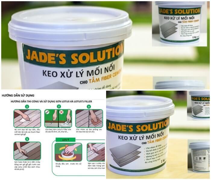Giá keo xử lý mối nối Jade's Solution chống nứt tấm