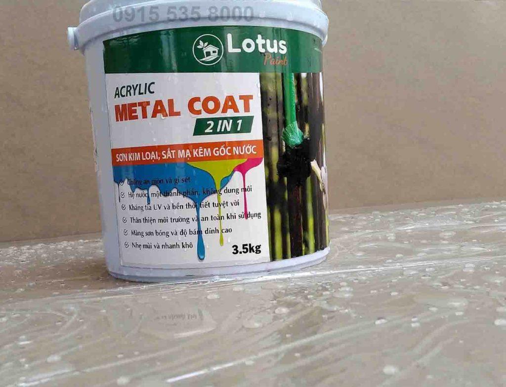 Cách sơn trên sắt mạ kẽm đơn giản không cần dùng lót