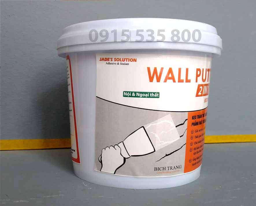 Keo Trám Sửa Chữa, Xử Lý Vết Nứt Khe Hở Trên Tường