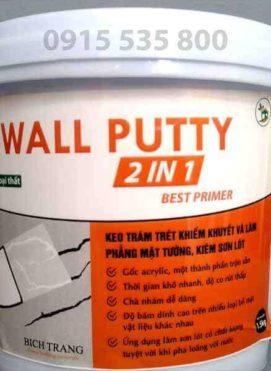 Bột trét tường chuyên dụng có khả năng kháng kiềm sẽ là lựa chọn hợp lý ... sơn lót chống kiềm, để sơn khô