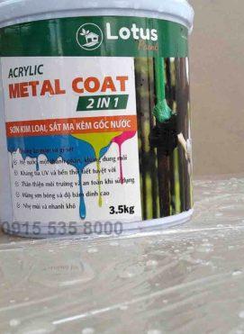 Sơn sắt mạ kẽm chống hóa chất bền thời tiết